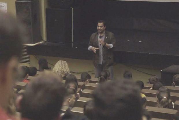 Salvador Puerto participa en los Aperitivos Junior del FCAT