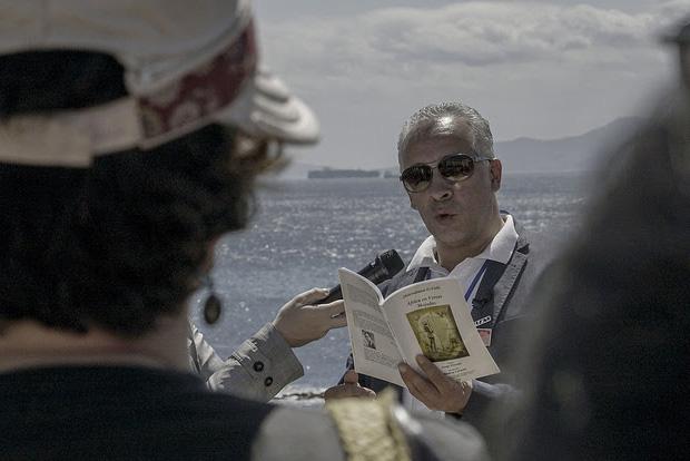 El FCAT estrena con éxito los recorridos literarios 'Entre Líneas'